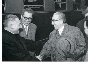 Pesaro incontro con il sindaco di Trieste ing. Gianni Bartoli ed il dott. Ruggero Rovatti