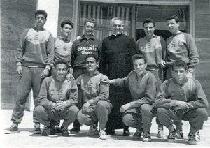 Squadra di pallacanestro dello Zandonai partecipante a tornei nazionali