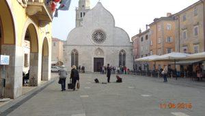 Muggia piazza Galileo Galilei