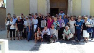 Foto di gruppo sul sagrato della Chiesa