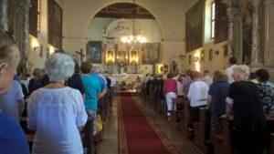 Interno della chiesa della Madonna della Misericordia