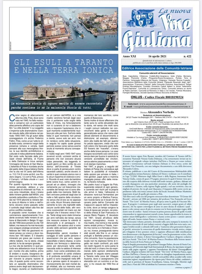 La Nuova Voce Giuliana 1 1